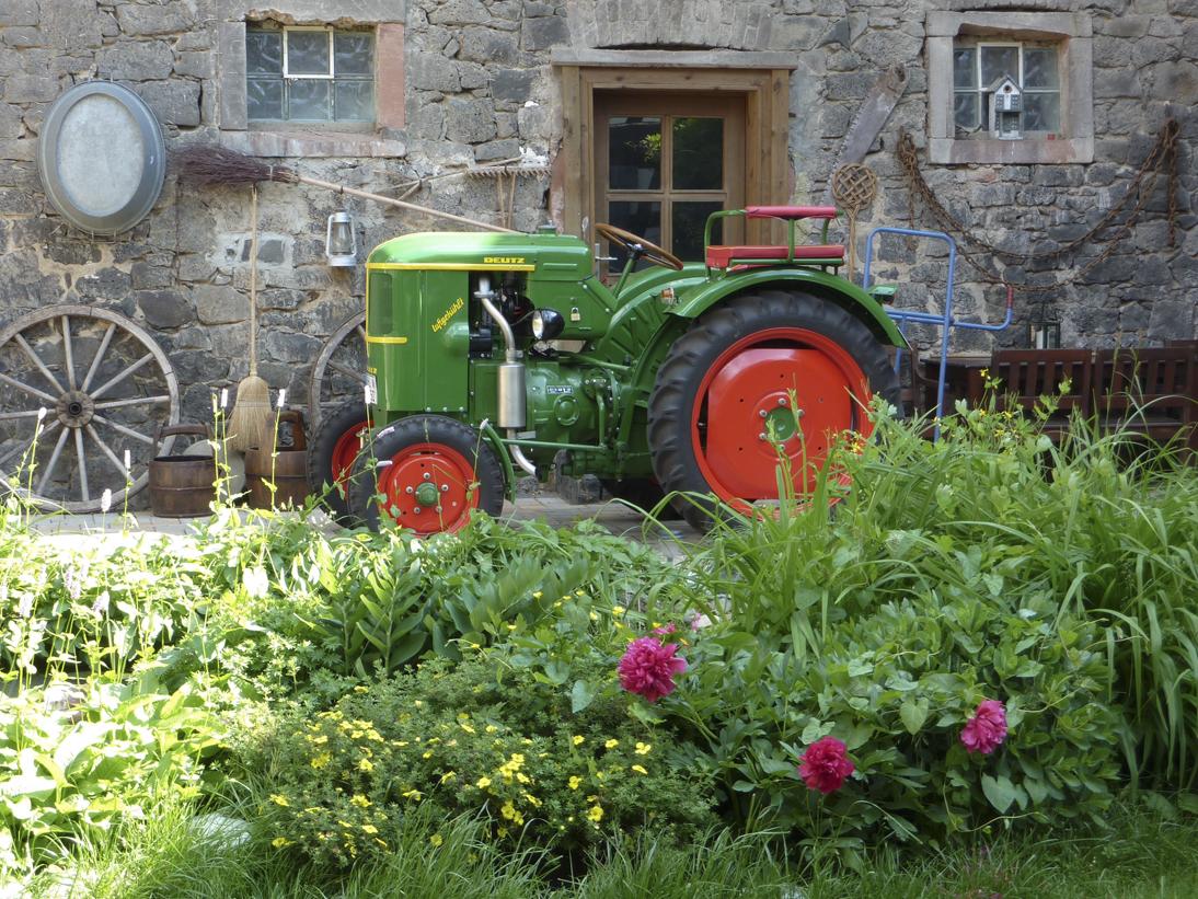 Traktor Originalfoto